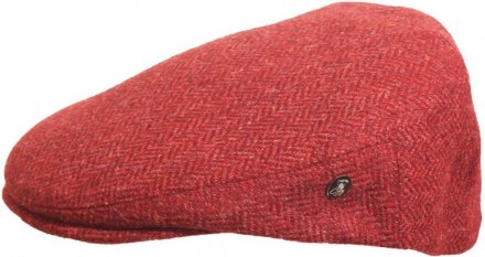 Flat cap - City Sport Caps Hampont (red)