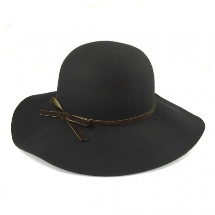 Hats - Vintage Wool Floppy Hat (black)