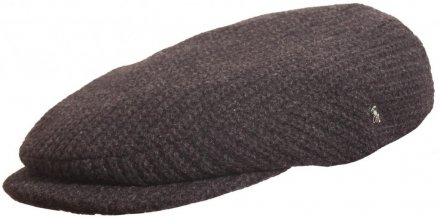 Flat cap - City Sport Caps Ambert (black/grey)