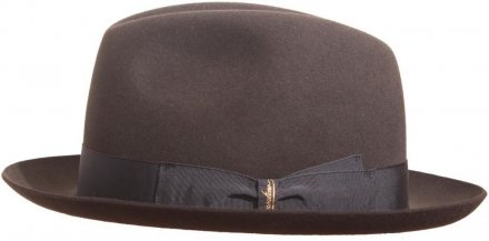 Hats - Borsalino Marengo Medium Brim Fedora (dark grey)