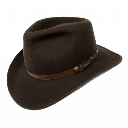 Hats - Crushable Outback (brown)