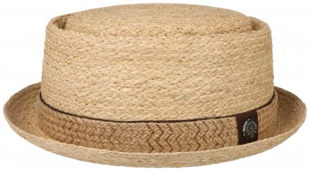 Hats - Stetson Inwood Pork Pie (natural)