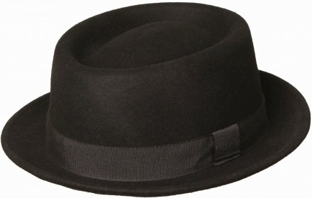 Hats - Gårda Asolo Pork Pie (black)