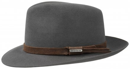 Hats - Stetson Downey Fur Felt (grey)