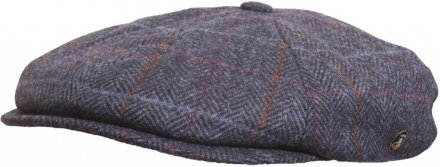 Flat cap - City Sport Caps Cremant (blue)