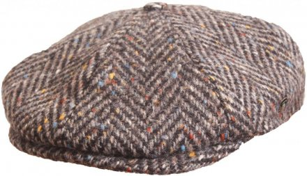 Flat cap - City Sport Caps Langres (grey mix)