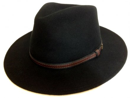 Hats - Faustmann Sarconi C-Crown (black)