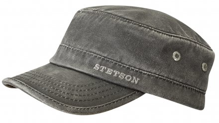 Flat cap - Stetson Winter Army Cap (black)