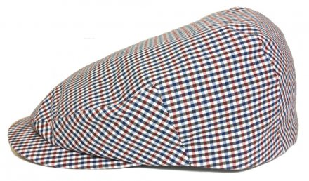 Flat cap - City Sport Caps Fontes (blue-white-red)