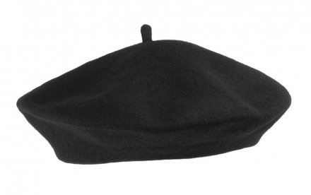 Beret - Wool Fashion Beret (black)
