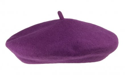 Beret - Wool Fashion Beret (purple)