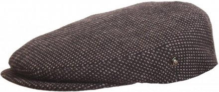 Flat cap - City Sport Caps Brinay (black/grey)