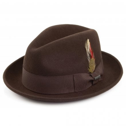 Hats - Crushable Blues Trilby (brown)