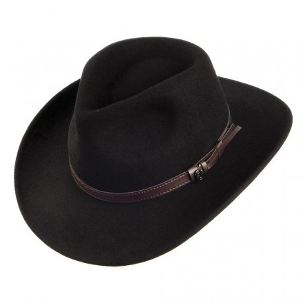 Hats - Crushable Outback (black)