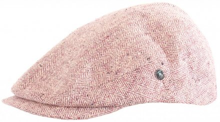 Flat cap - City Sport Caps Autun (red)