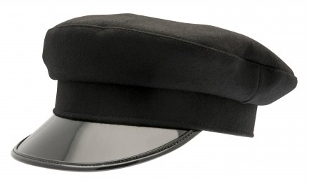 Fiddler cap - CTH Ericson Vega Wool (black)