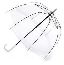 Umbrella - Fulton Birdcage (white)
