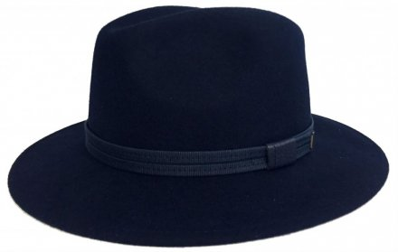 Hats - Faustmann Lavello Pinch Crown (navy blue)