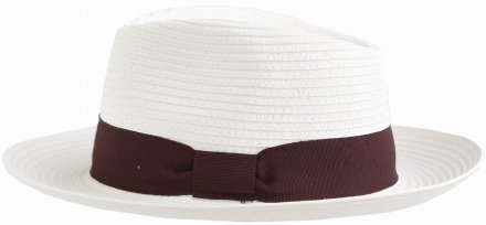 Hats - Gårda Bellagio Fedora (white)