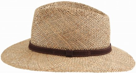Hats - Gårda Arese Seagrass Fedora (natural)