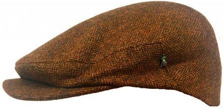 Flat cap - City Sport Caps Velleron (brown)