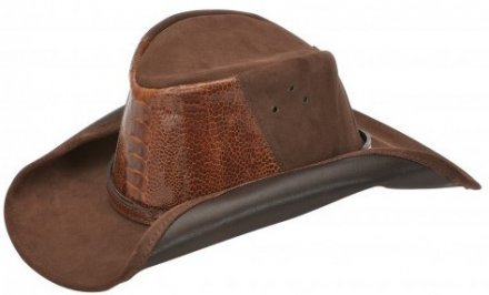 Hats - Jacaru Kakadu Ostrich (brown)