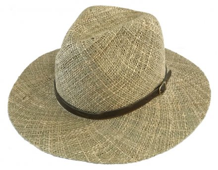 Hats - Gårda Ferrara Seagrass Fedora (natural)