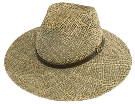 Hats - Gårda Oliveto Seagrass Fedora (natural)