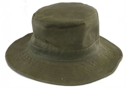 Hats - Gårda Favarella waxed cotton (green)