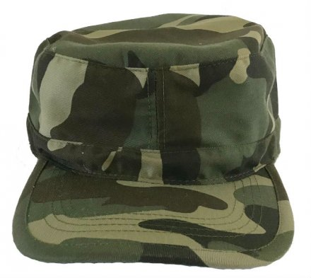 Flat cap - Gårda Cotton Army Cap (green)