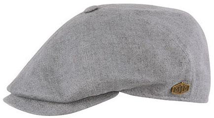 954cc04dbefb6 Flat cap - MJM Rebel Linen (grey)