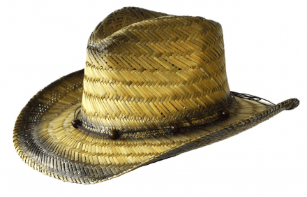 Hats - Jacaru Cowboy Tinted Straw Hat
