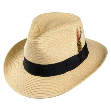 Hats - Summer C-Crown Fedora (natural)