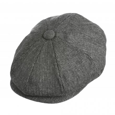 Flat cap - Jaxon Union Newsboy Cap (dark grey)