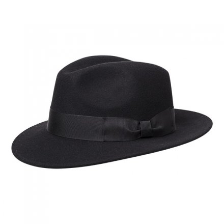 Hats - Wigéns Bosco Fedora (black)