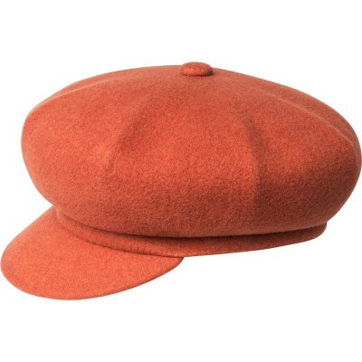 Flat cap - Kangol Wool Spitfire (orange)