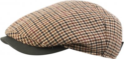 Flat cap - Wigéns Cashmere Ivy One Piece Cap (brown)