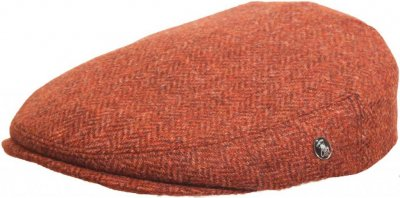 Flat cap - City Sport Caps Lisses (rust)