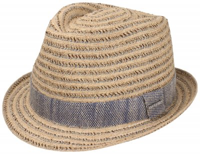 Hats - Stetson Newberry (beige-blue)