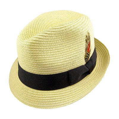 Hats - Summer Blues Trilby (natural)
