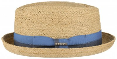 Hats - Stetson Chipley Raffia Pork Pie (natural)