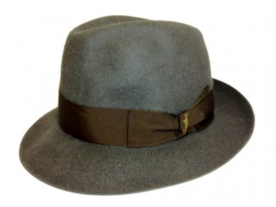 Hats - Borsalino Traveller Fedora (grey)