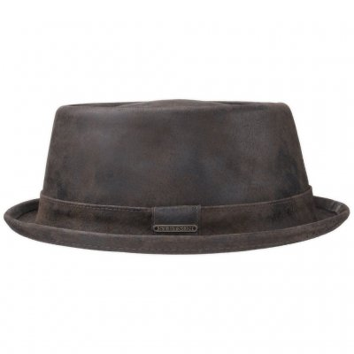 Hats - Stetson Hobbs Leather (bown)