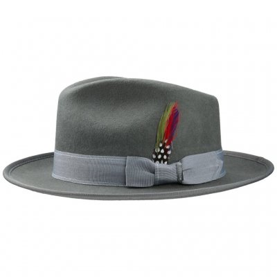Hats - Stetson Langley (grey)