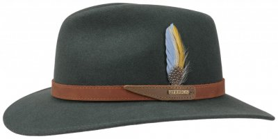 Hats - Stetson Malcolm (green)