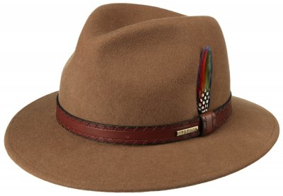 Hats - Stetson Gorham (brown)