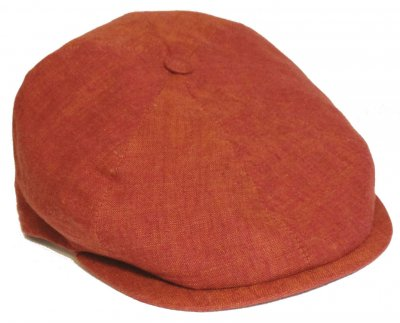 Flat cap - City Sport Caps Bourges (red)