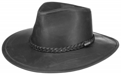 Hats - Stetson Farwell Leather (black)