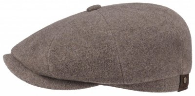 Flat cap - Stetson Hatteras Wool/Cashmere (light brown)