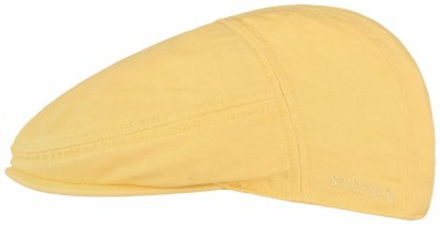 Flat cap - Stetson Paradise Cotton (yellow)